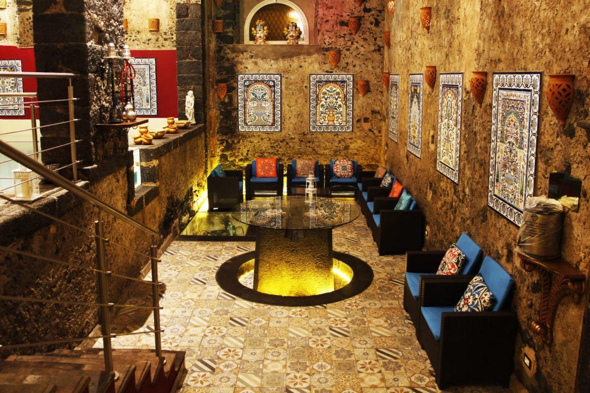 area relax Bagni Arabi